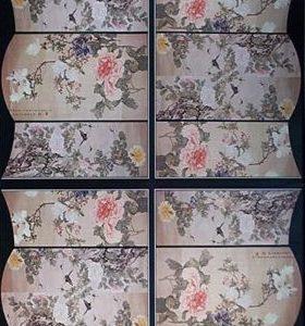 Flowers on Silk